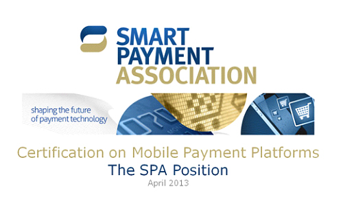 Position Paper 'Certification on Mobile Payment Platforms' published by Smart Payment Association