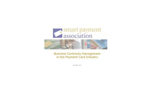 Special Report into Business Continuity Management published by Smart Payment Association (SPA)