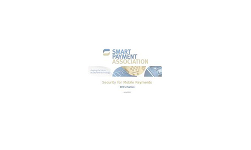 Position Paper on Security for Mobile Payments published by Smart Payment Association (SPA)